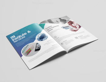 Uranus Elegant Corporate Brochure Template