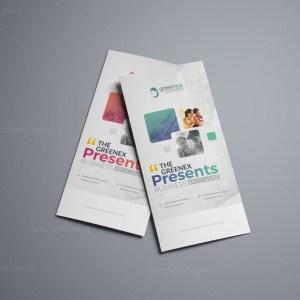 Vega Professional Corporate Tri-Fold Brochure Template