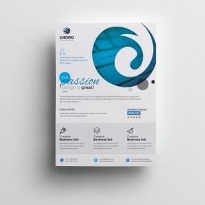 Venus Stylish Premium Business Flyer Template