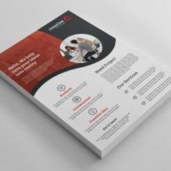 Barcelona Elegant Professional Business Flyer Template
