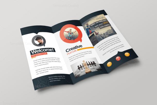 Bravo Corporate Creative Tri-fold Brochure