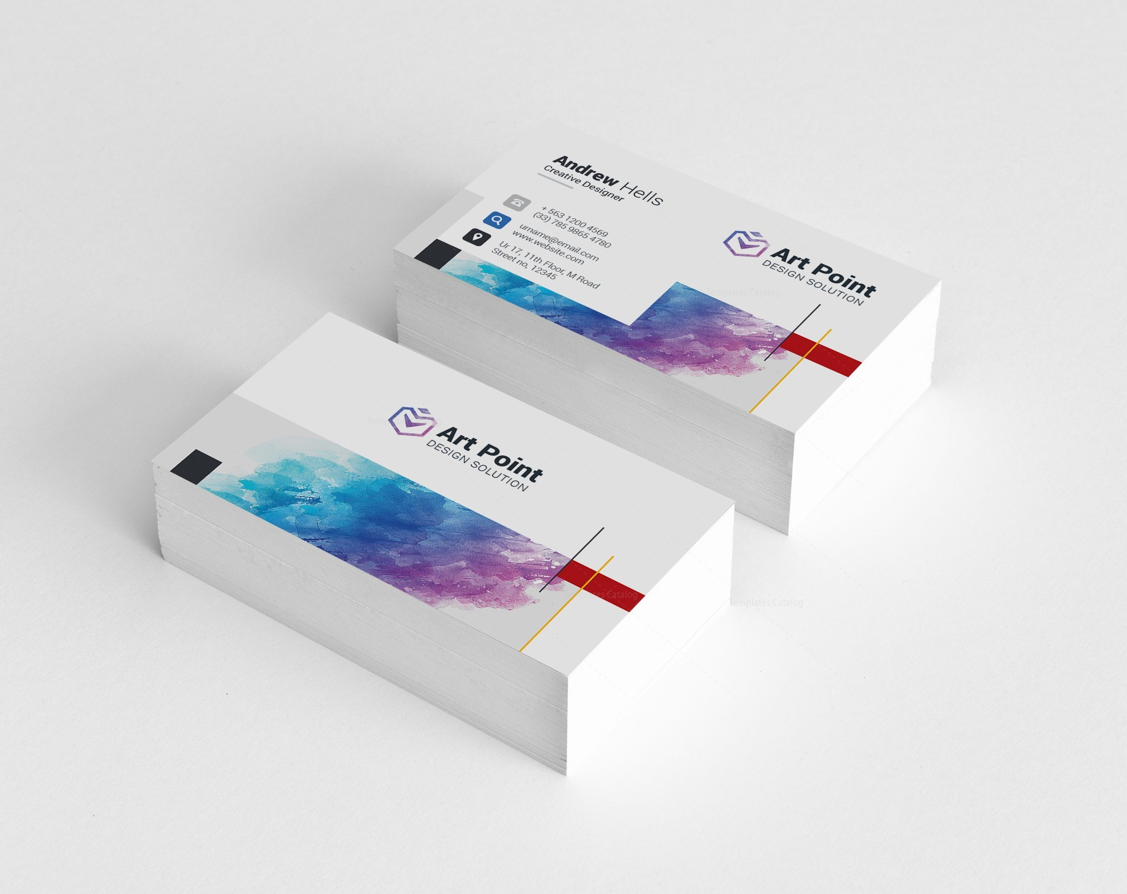 Castor Professional Corporate Visiting Card Template