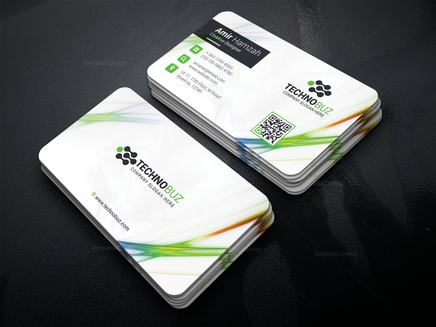 Crios Professional Corporate Visiting Card Template