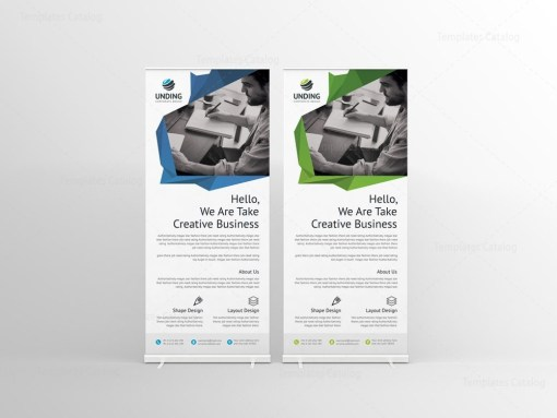 Fancy Professional Roll-Up Banner Template