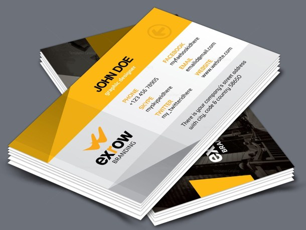 Flora Creative Corporate Business Card Template