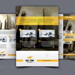 Flora Elegant Professional Business Flyer Template