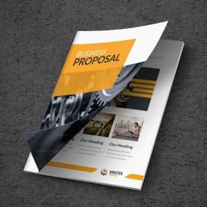 Master Premium Business Bi-Fold Proposal Template