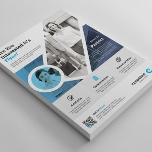 Oxford Stylish Business Corporate Flyer Template