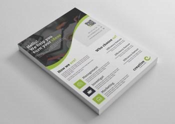 Prague Stylish Professional Business Flyer Template