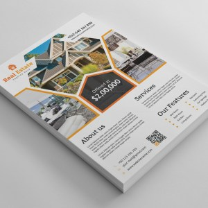 Premium Real Estate Flyer Design Template