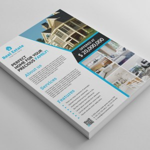 Stylish Real Estate Flyer Template