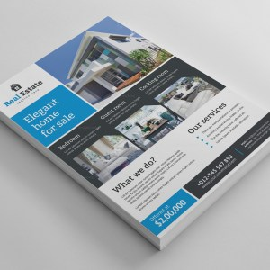 Super Real Estate Flyer Design Template