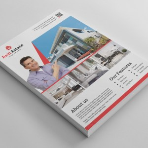 Top Rated Real Estate Flyer Design Template
