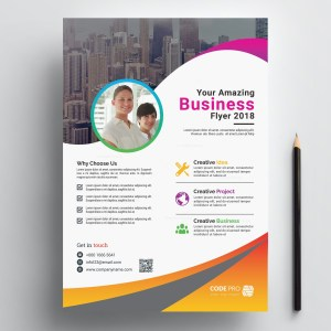 Caracas Creative Business Flyer Design Template Home Print Flyers