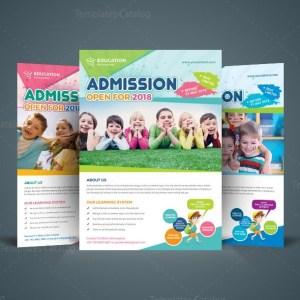 Excellent School Flyer Design Template