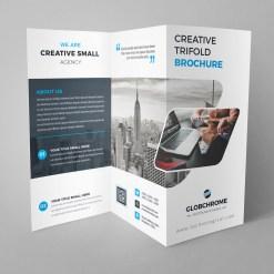 Minsk Professional Creative Tri-fold Brochure Design
