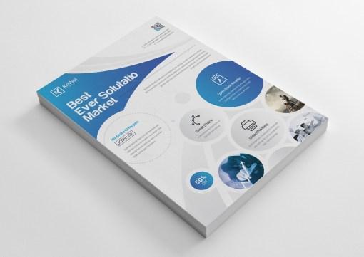 Nevada Classy Business Flyer Design Template