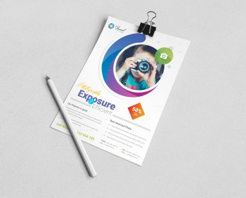 Photography Business Flyer Design Template