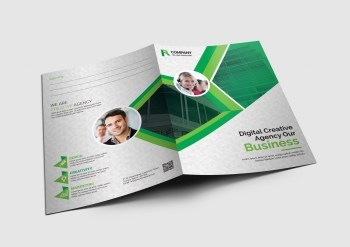 Toronto Corporate Presentation Folder Template