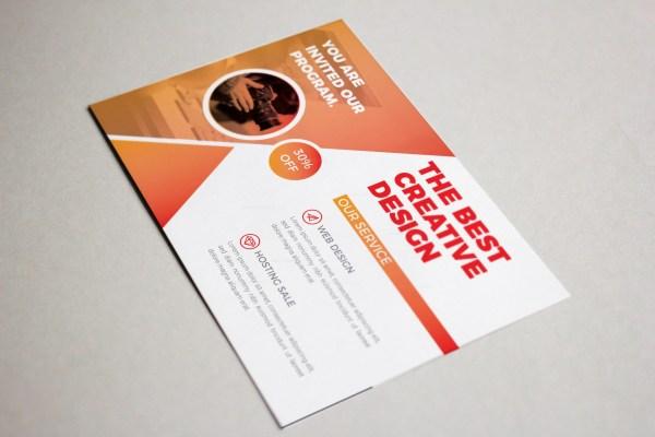 Vermont Modern Corporate Postcard Design Template