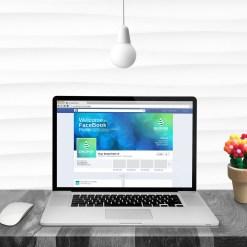 Bubble Facebook Timeline Cover Template