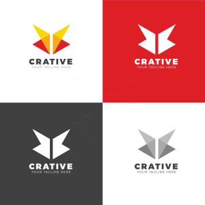 Butterfly Creative Logo Design Template