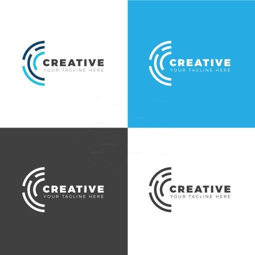 California Creative Logo Design Template