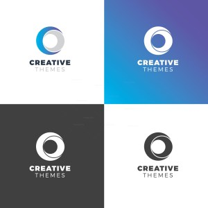 Circle Elegant Logo Design Template