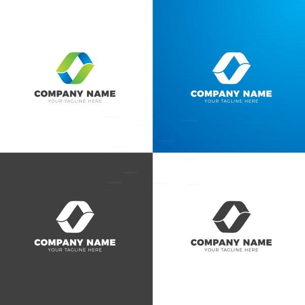 Company Elegant Vector Logo Design Template
