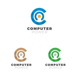 Computer Creative Logo Design Template
