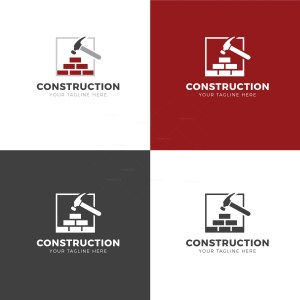 Construction Creative Logo Design Template