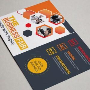 Elegant Corporate Postcard Design Template