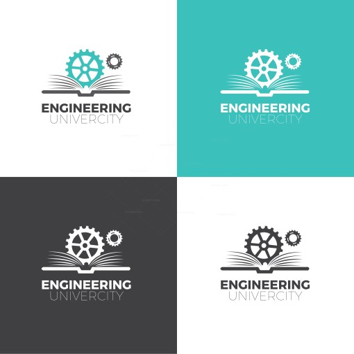 Engineering Company Logo Design Template