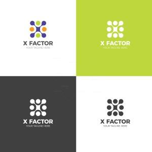 Factor Creative Logo Design Template