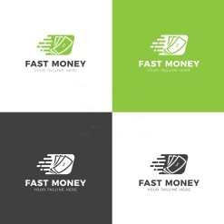 Fast Money Creative Logo Design Template