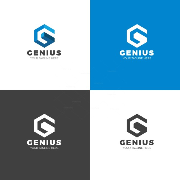 Genius Creative Logo Design Template