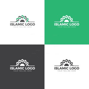 Islamic Logo Design Template
