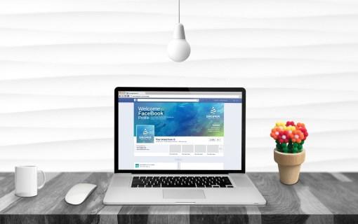 PSD Company Facebook Timeline Cover