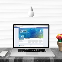 PSD Company Facebook Timeline Cover