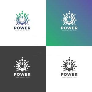 Power Professional Logo Design Template