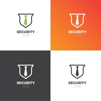 Security Company Creative Logo Design Template