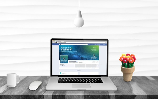 Space Facebook Timeline Cover Template