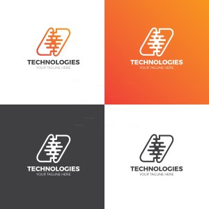 Technology Creative Logo Design Template