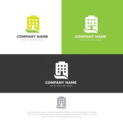 Apartment Creative Logo Design Template