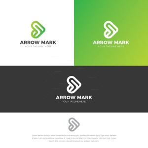 Arrow Stylish Logo Design Template