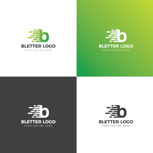 B Creative Logo Design Template