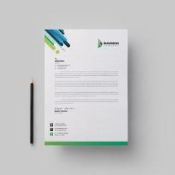 Best Corporate Letterhead Design Template