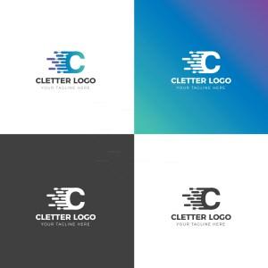 C Creative Logo Design Template