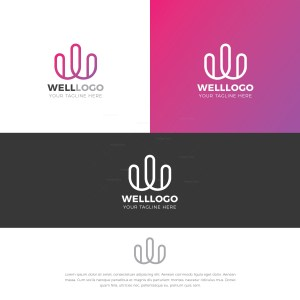 Cactus Stylish Logo Design Template