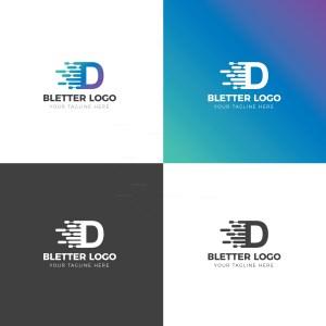 D Creative Logo Design Template